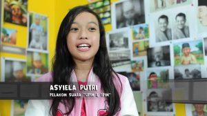 Berkenalan Dengan Asyiela Putri, Pemilik Suara Upin dan Ipin