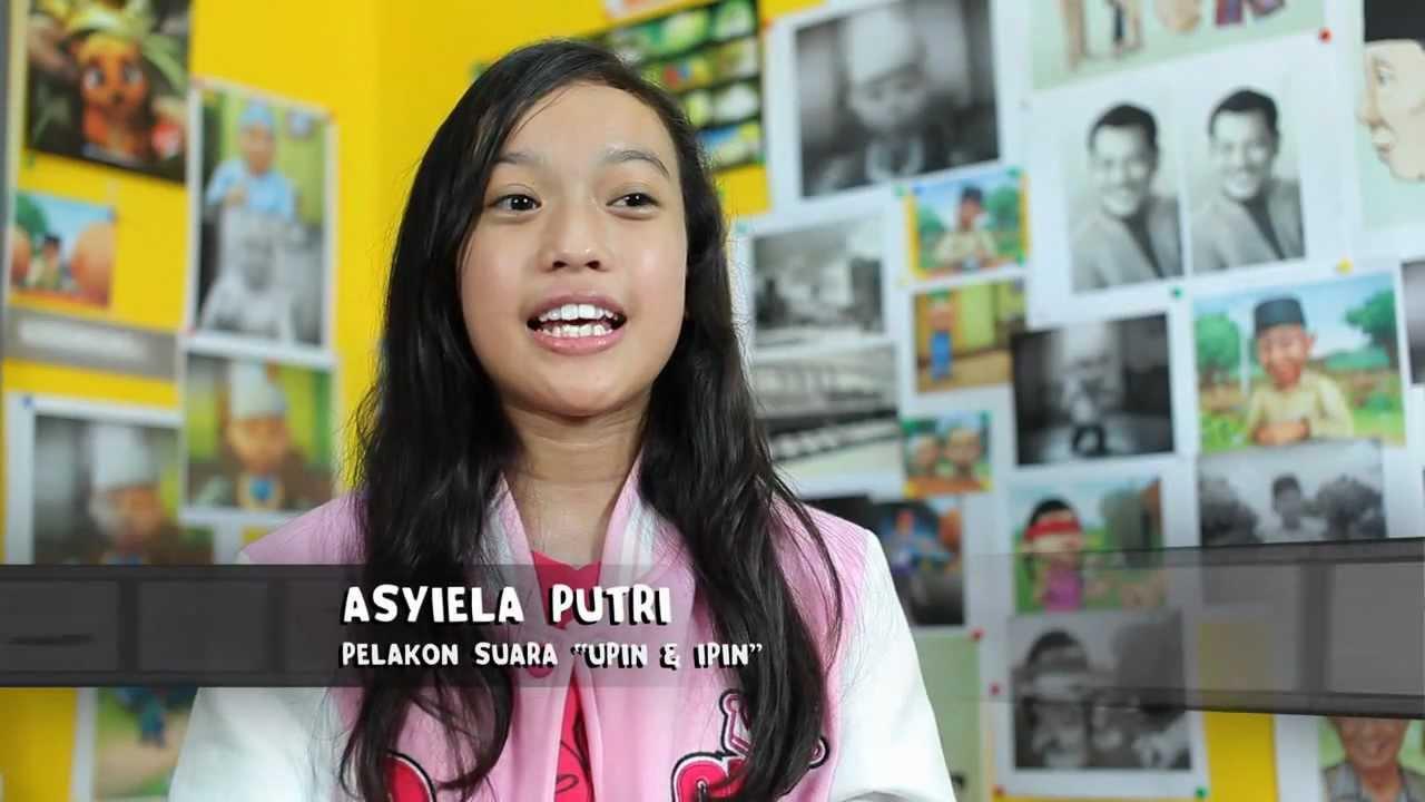 Asyiela Putri Pelakon Suara Upin dan Ipin