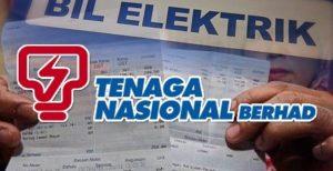 Semakan dan Pembayaran Bil Elektrik TNB Secara Online