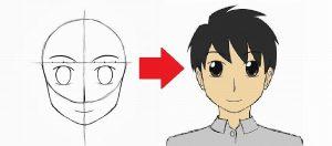 Cara Melukis Muka Kartun dan Anime (15 Langkah Mudah)