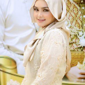 Fesyen Berhijab Siti Nurhaliza Pada Majlis Perkahwinan Khairul Fahmi 2013