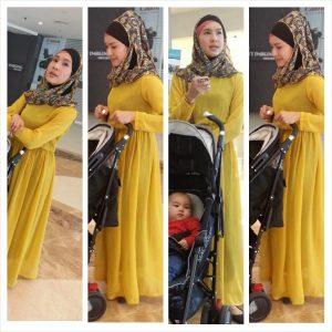 Fesyen Muslimah Comel Intan Ladyana