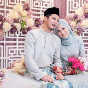 Foto Kahwin Hanis Zalikha dan Hairul Azreen
