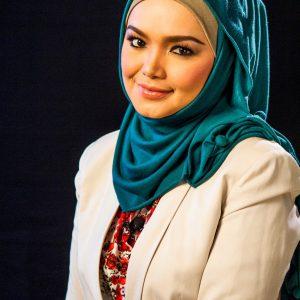 Gambar Siti Nurhaliza Bertudung Penuh