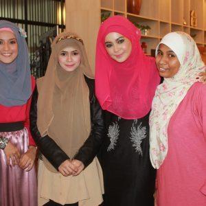 Heliza Helmi Team Hijabista