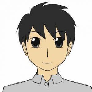 Melukis Muka Kartun dan Anime (Lukisan Siap)