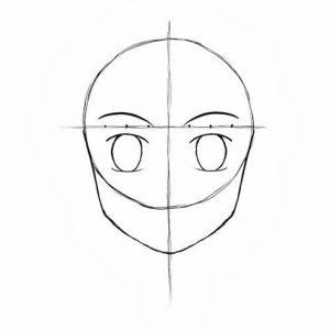Melukis Muka Kartun dan Anime (Step 10)