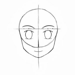 Melukis Muka Kartun dan Anime (Step 11)