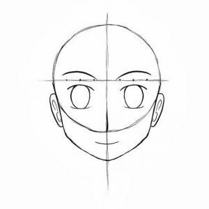 Melukis Muka Kartun dan Anime (Step 12)