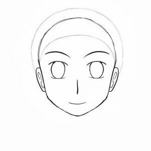 Melukis Muka Kartun dan Anime (Step 14)