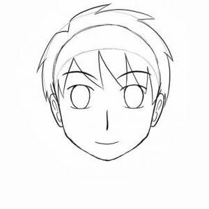 Melukis Muka Kartun dan Anime (Step 15)
