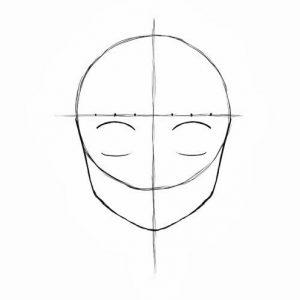 Melukis Muka Kartun dan Anime (Step 9)