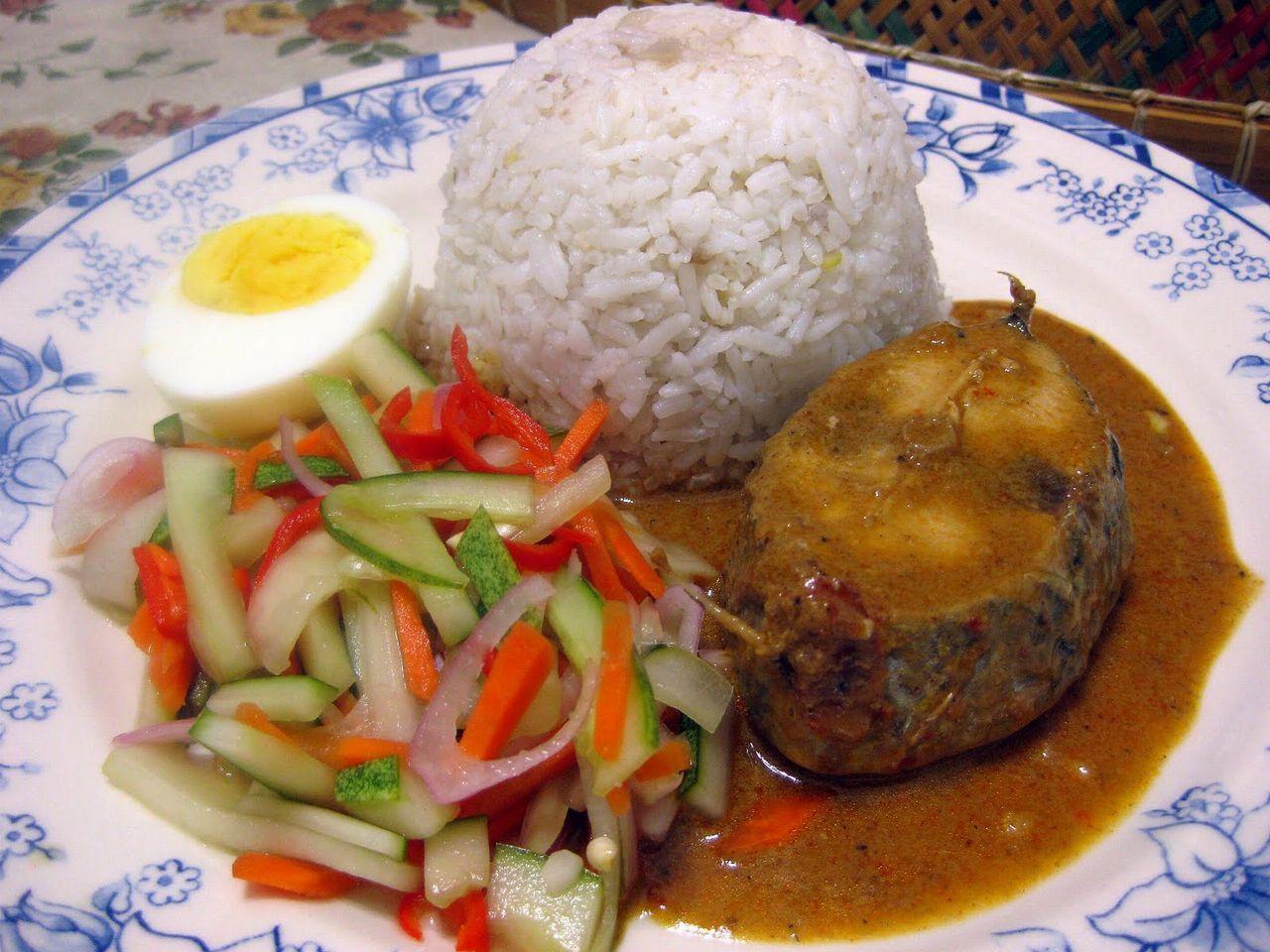 Resepi Nasi Dagang Asli Terengganu Dengan Gulai Ikan Tongkol