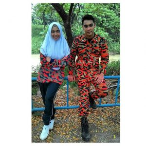Pasangan Hisyam Hamid Dan Amira Othman