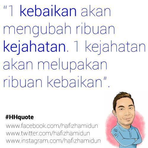 Quote Tazkirah Hafiz Hamidun