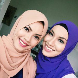 Selfie Tiz Zaqyah Dalam Akadku Yang Terakhir Raya