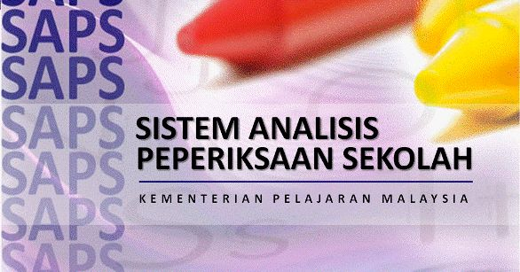 Sistem Analisis Peperiksaan Ibu Bapa SAPS