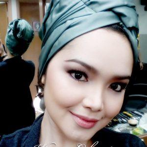 Wajah Cantik Siti Nurhaliza Dgn Fesyen Turban