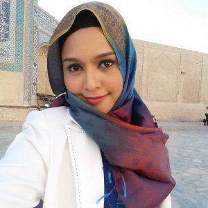 Ainul Aishah Bertudung Shawl