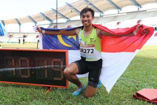 Catatan Rekod 100m 10.19 Milik Khairul Hafiz Jantan