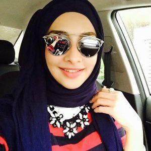 Foto Hot Fesyen Hijab Lufya Omar
