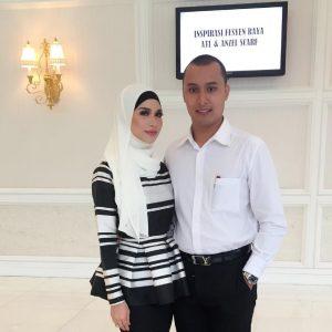 Gambar Anzalna Dan Suami Hanif Zaki