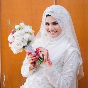 Gambar Perkahwinan Ezzaty Abdullah