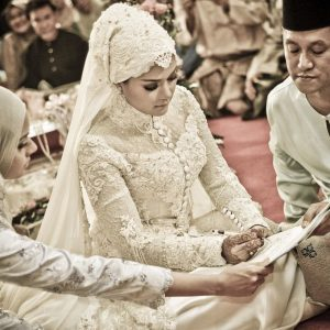 Gambar Perkahwinan Serina Chef Wan