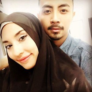 Gambar Zarina Anjoulie Bersama Suami Pengiran Ilham Syazwan