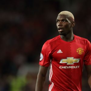 High Resolution Paul Pogba MUFC 2016 Picture Images