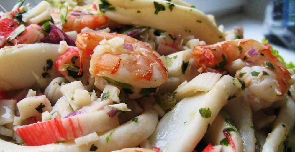 Kerabu Seafood Ala Thai Yang Seda