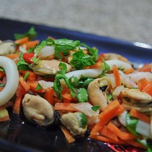 Kerabu Seafood Salad