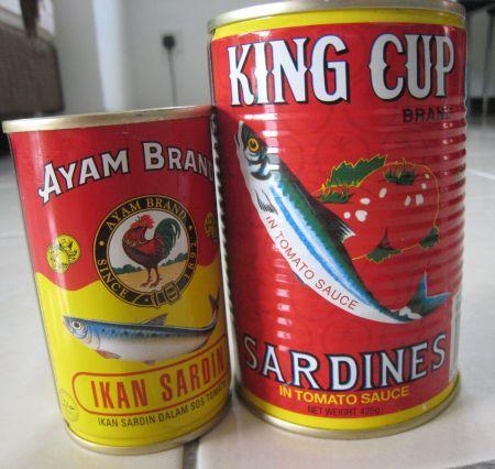 King Cup Dan Ayam Brand Sardin