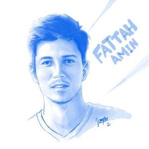 Lukisan Potret Fattah Amin