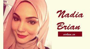 Biodata Nadia Brian, Pelakon Cantik Kacukan Melayu-Australia