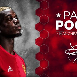 Paul Pogba Signature Man United FC High Quality Wallpaper
