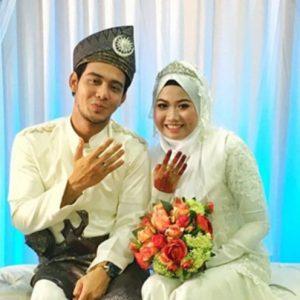 Perkahwinan Hafidz Roshdi Dan Isterinya Nurul Shuhada