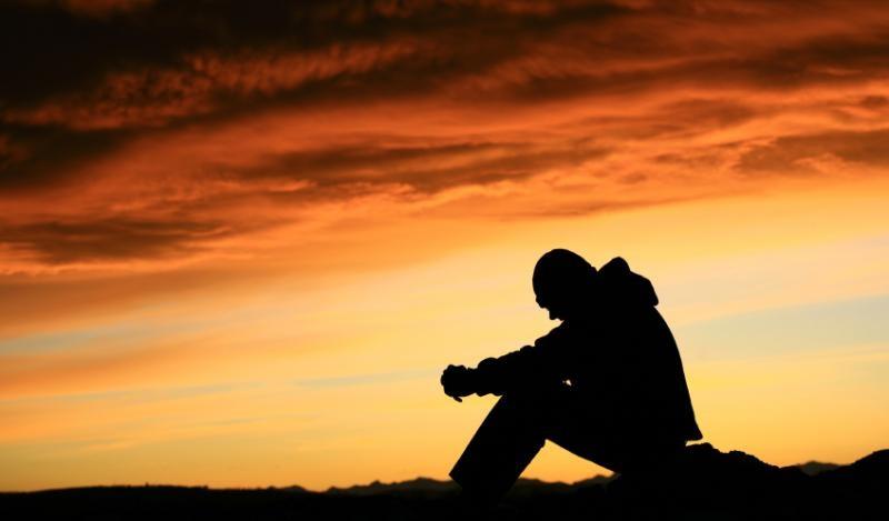 Sad Man Picture