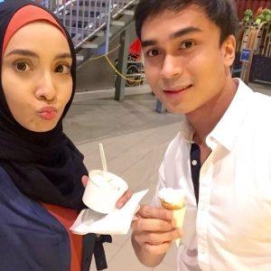 Selfie Lufya Omar Dengan Tunangnya Che Muhammad Hafiz