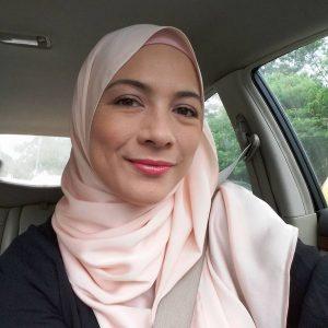 Sharifah Sofia Tanpa Mekap