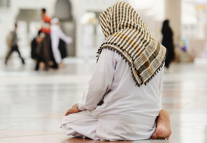 Solat Seorang Diri Di Masjid