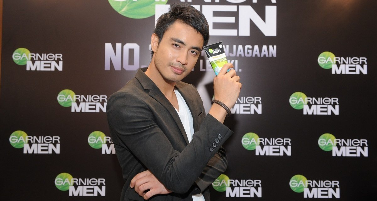Foto Lelaki Handsome Aiman Hakim Ridza Model Garnier For Men