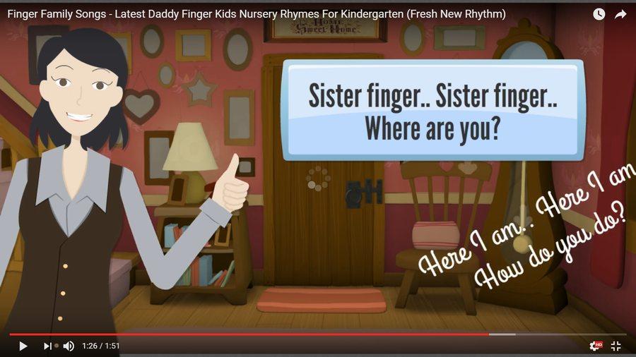 Finger Family Song Cover