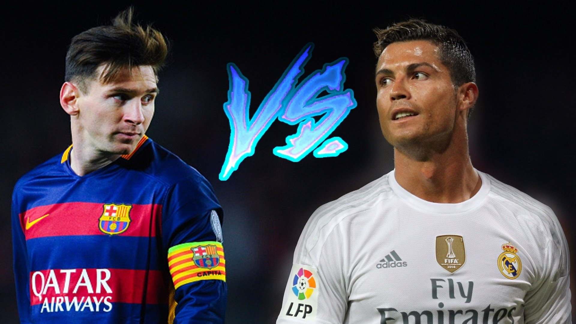 Messi Vs Ronaldo Hd Desktop Wallpaper
