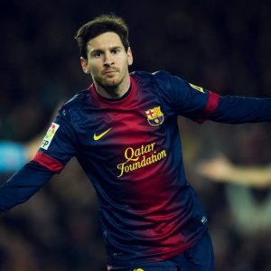 Powerful Lionel Messi Barcelona Fc Hd Desktop Images