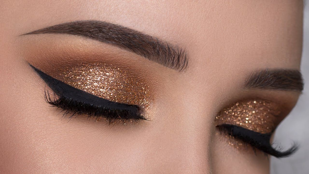 Beautiful Glitter Makeup