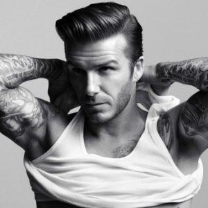 David Beckham Pompadour Hairstyles