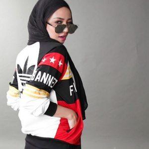 Fesyen Fathia Latiff Tetap Anggun Bertudung