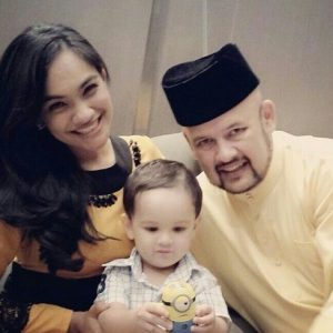 Harith Iskander Family