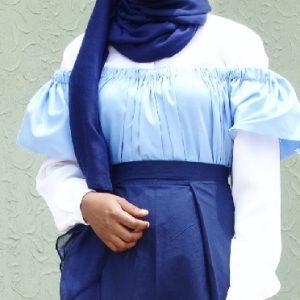 Muslimah Off Shoulder Dress